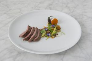 Marc Soper's lamb dish