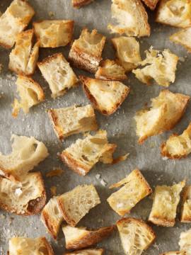 Ciabatta crusts