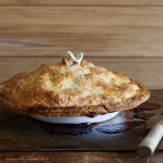 Apple & Cranberry Pie