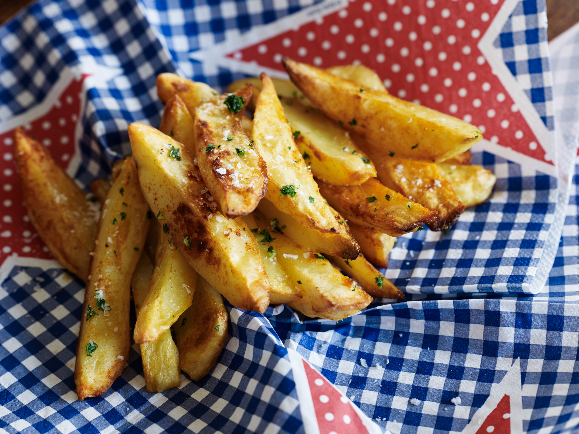 Smoked paprika fries