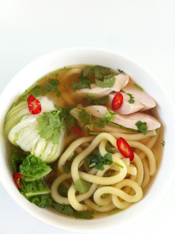 Hokkien noodle soup