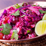 Purple Power Quinoa Salad