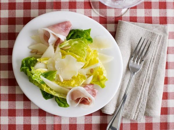 Pears, Prosciutto & Parmigian