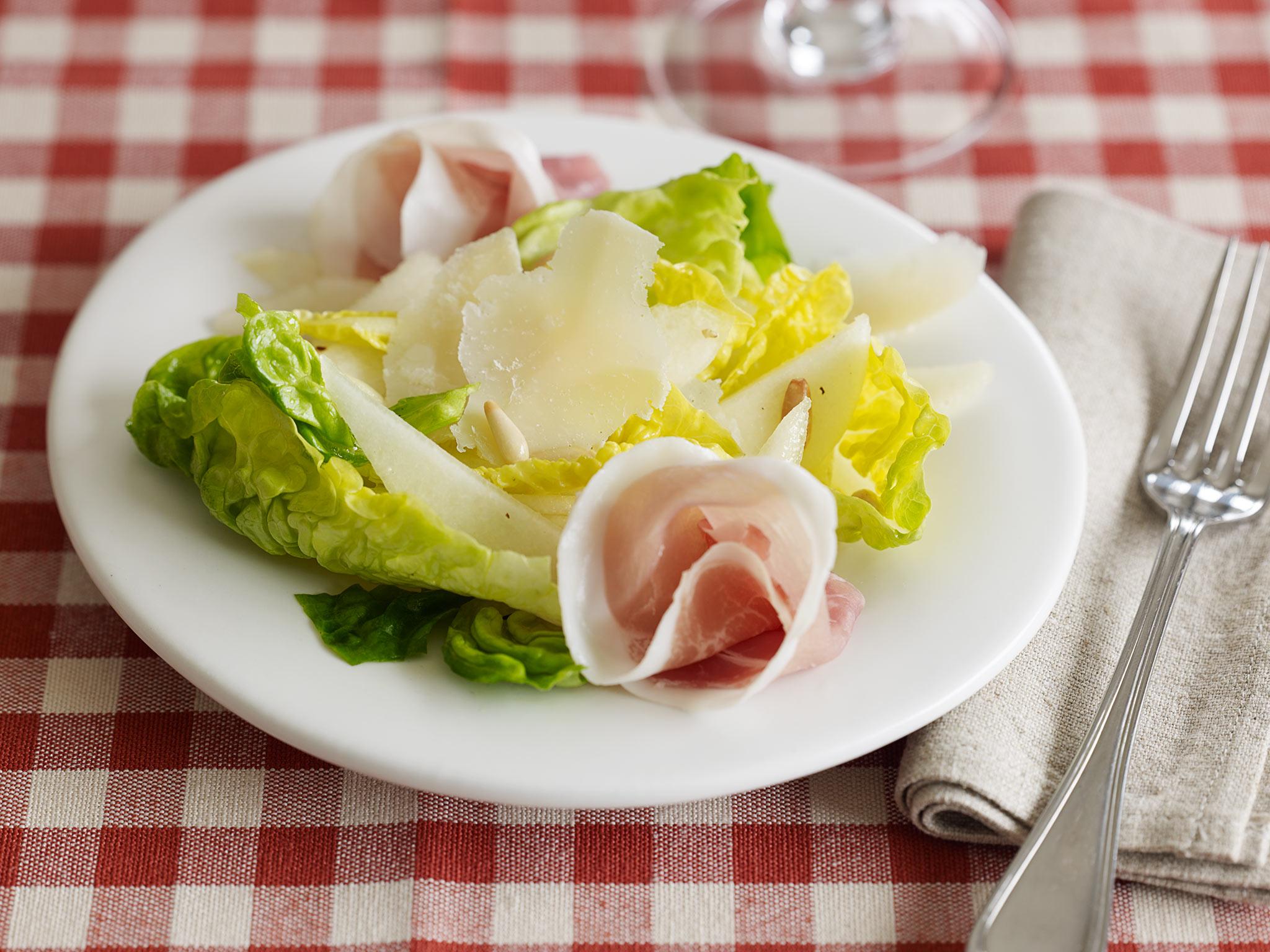 Pears, Prosciutto & Parmigiano