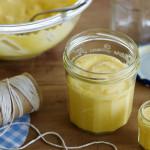 Quick lemon curd