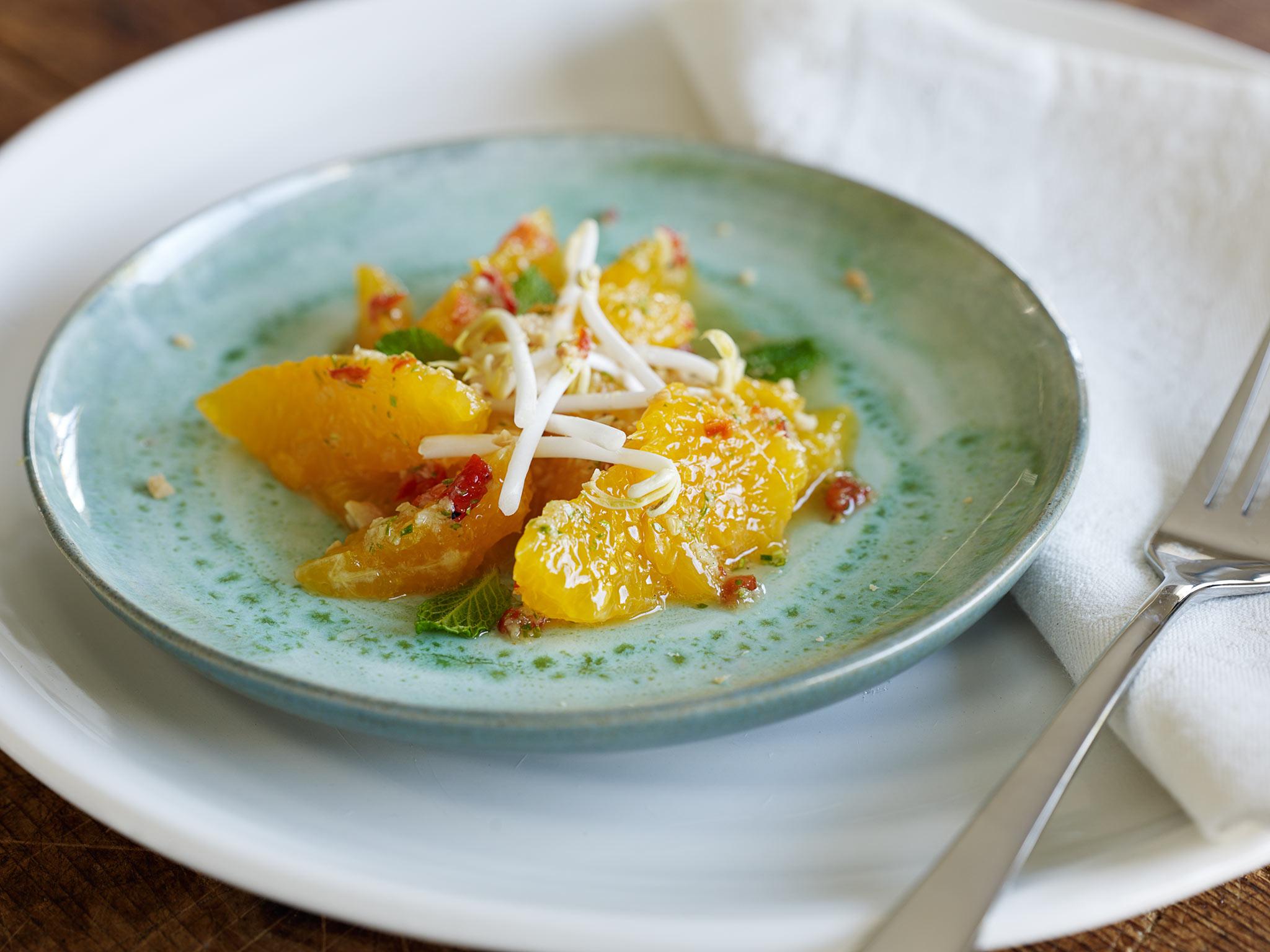 Grapefruit & orange salad