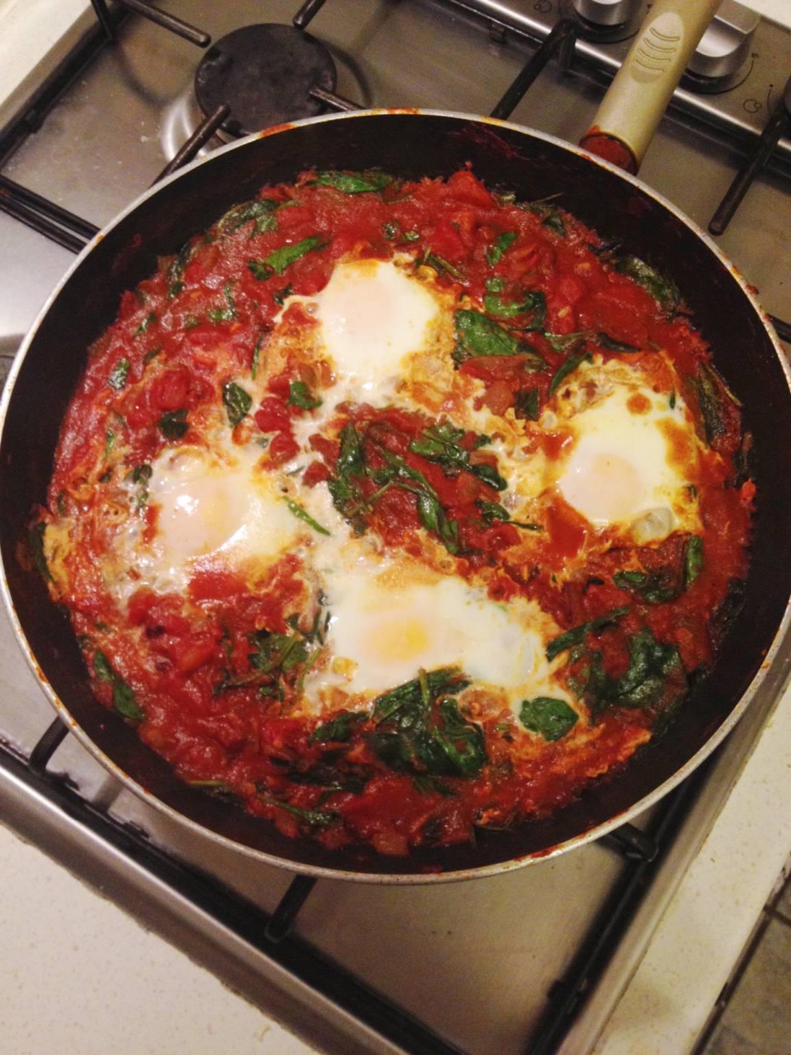 London flatting eggs