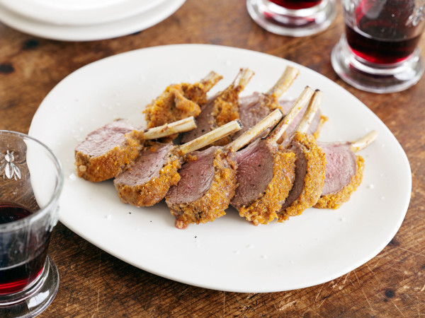 Crusted Lamb Racks