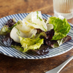 Pear & pecorino salad