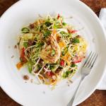 Prawns & crunchy salad