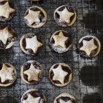 Chocolate cherry mince pies