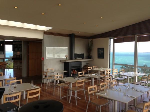 Te Whau restaurant interior
