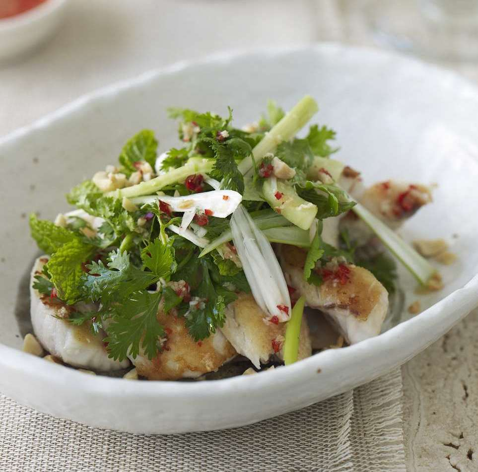 Vietnamese Salad with Fish