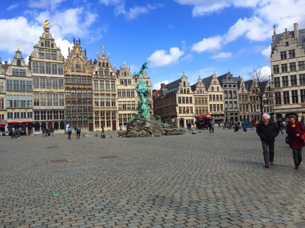 Main square in Antwerp