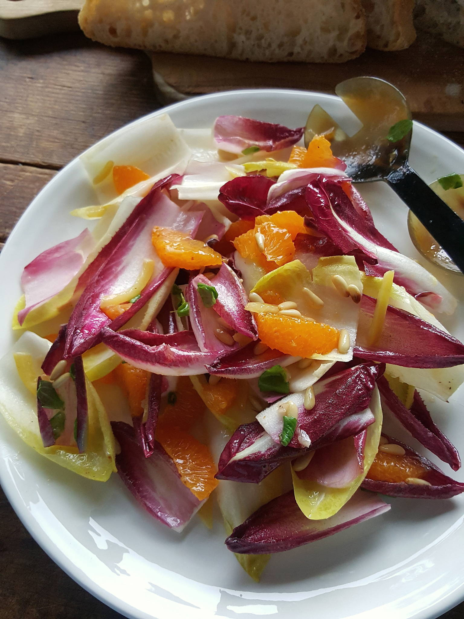 Witloof & orange salad 7