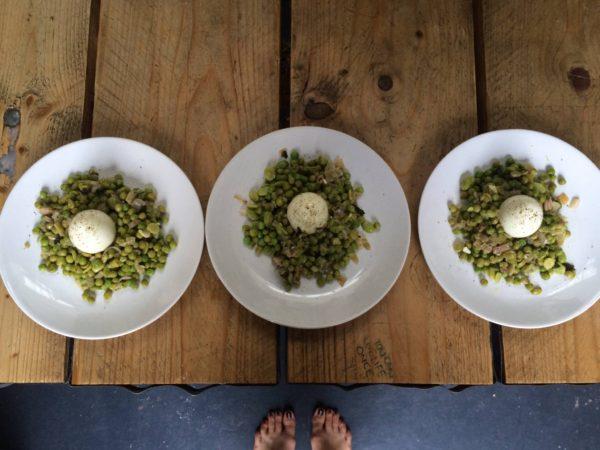 3 peas & some pods