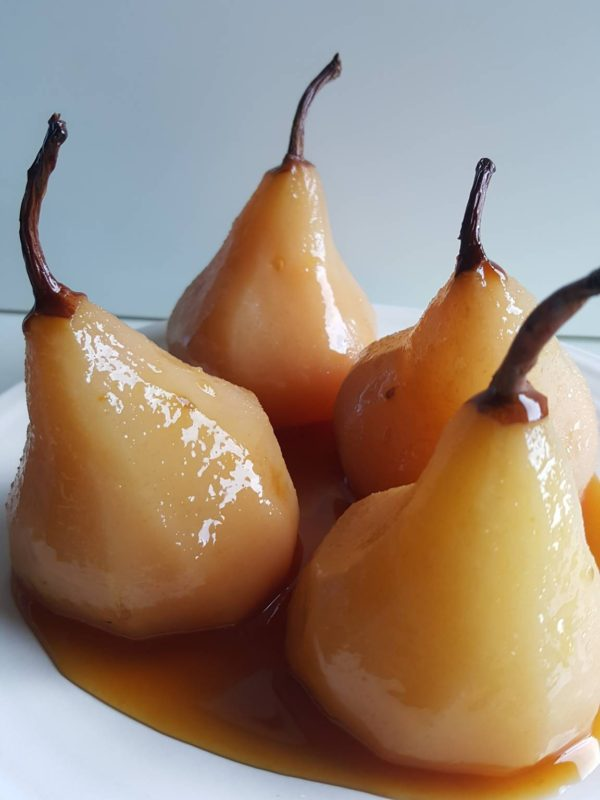Slow-cooked Maple Pear