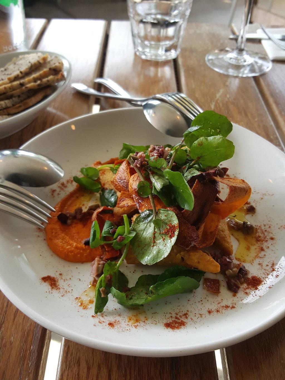 Carrot Romesco