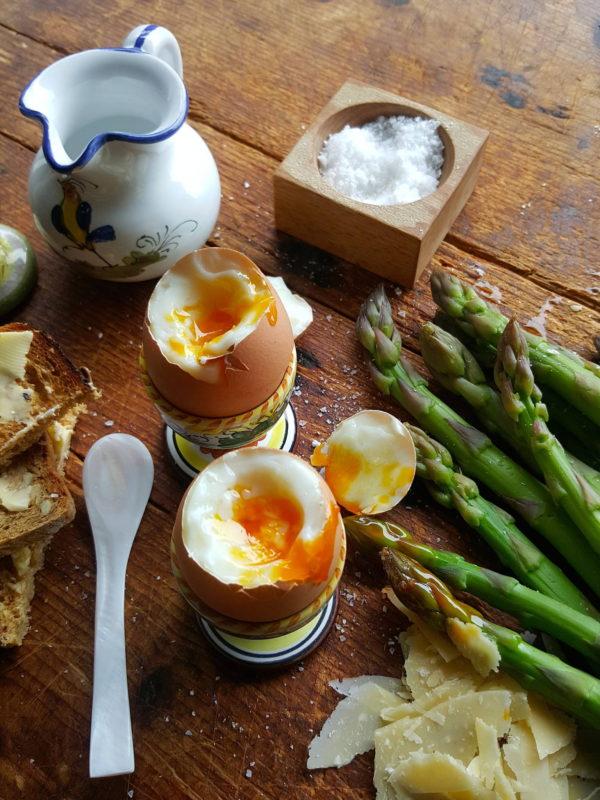 Asparagus & eggs 2