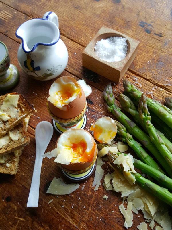 Asparagus & eggs 3