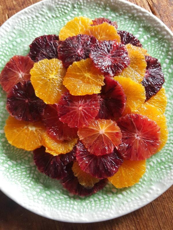 Orange salad 1