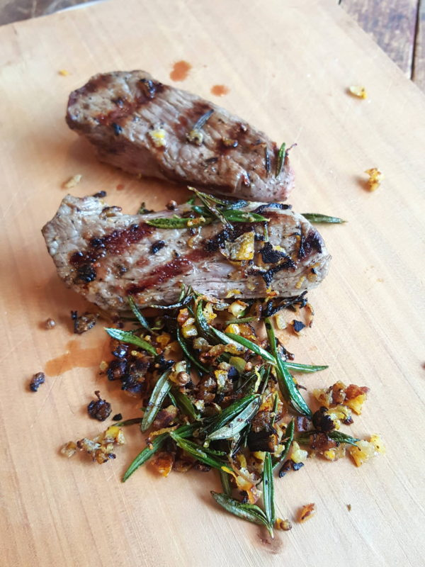 Char-grilled Lamb