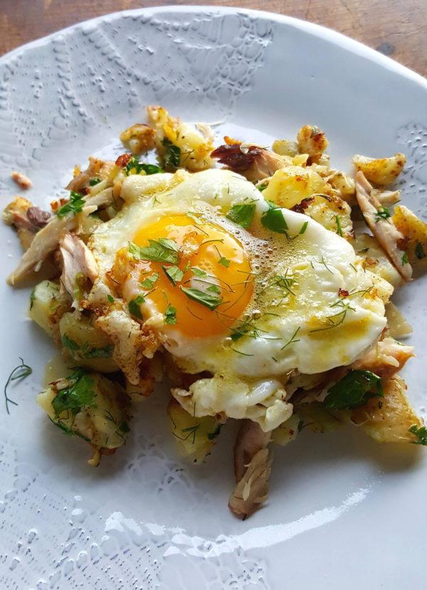 Hash & eggs