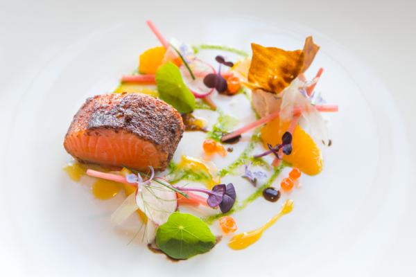 Winning Ora King salmon dish 2016