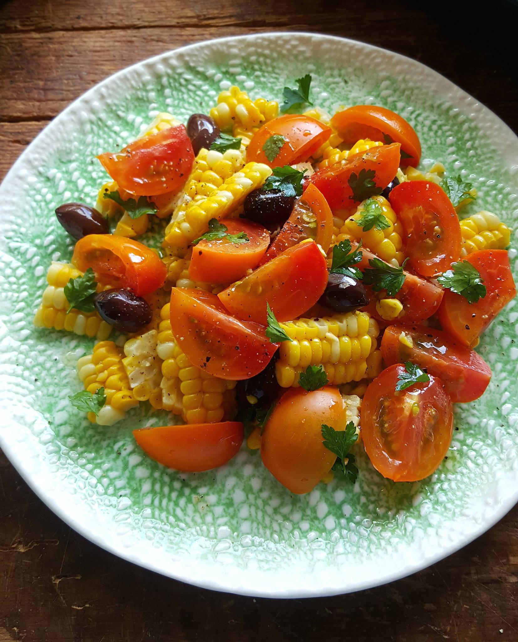 tomato & corn salad 1