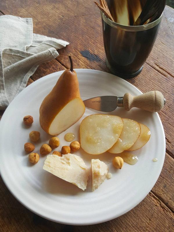 Pear & parmesan