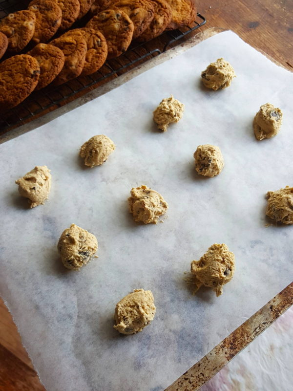 Chocolate chunk biscuits 2