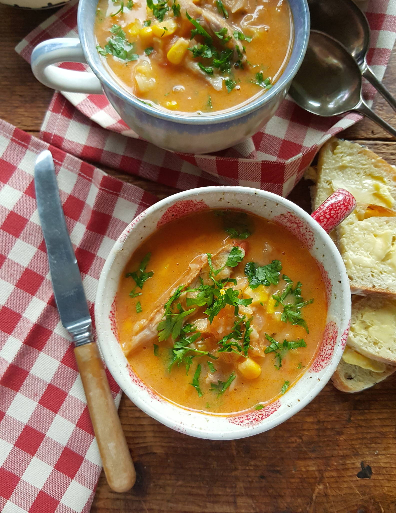 Smoked fish chowder 1