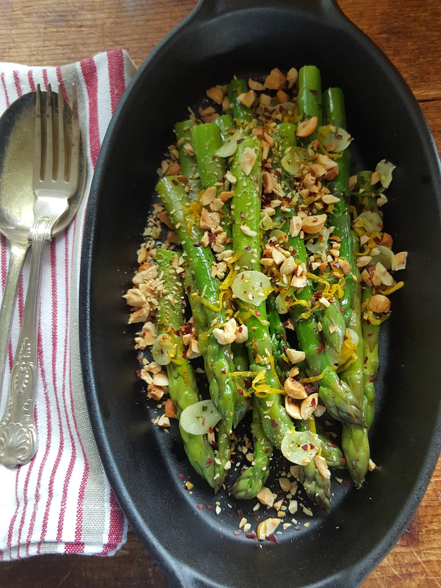 Asparagus & Toasted Hazelnuts 2