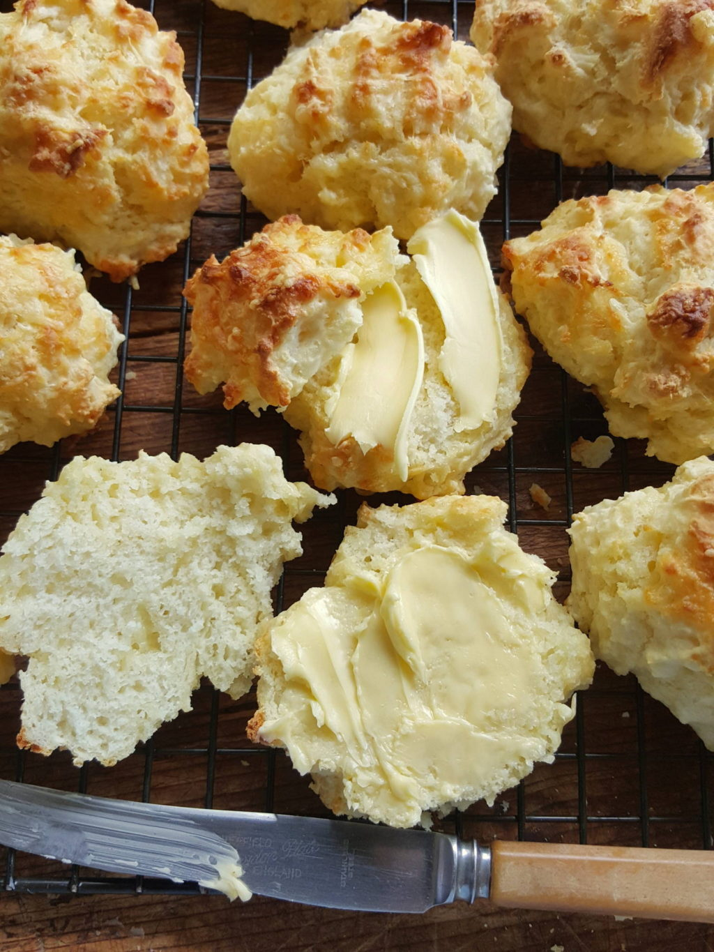 Lynne's cheese scones