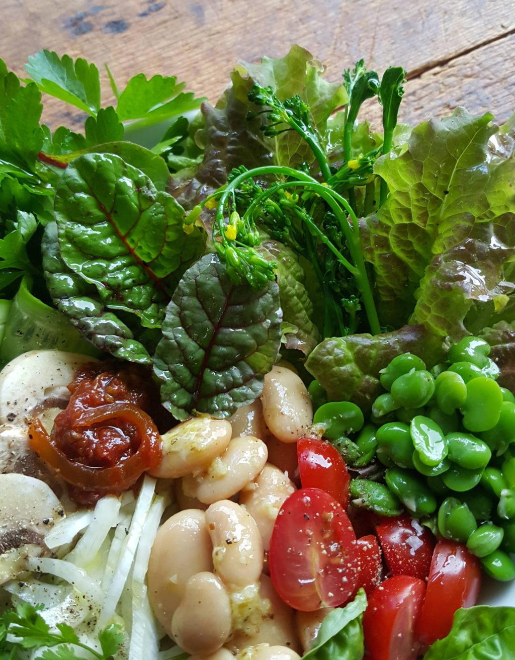 Spring Salad Bowl 1