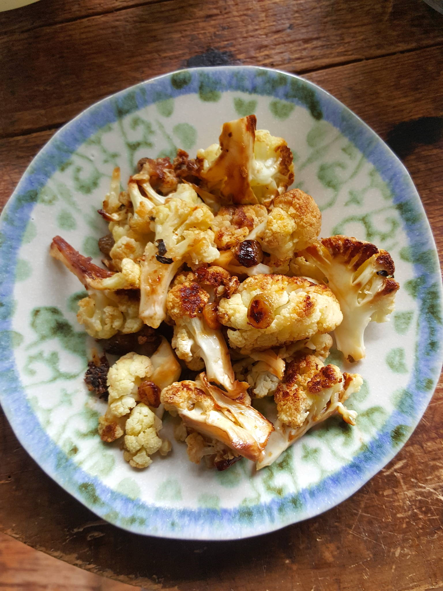 Cauliflower with Verjuice