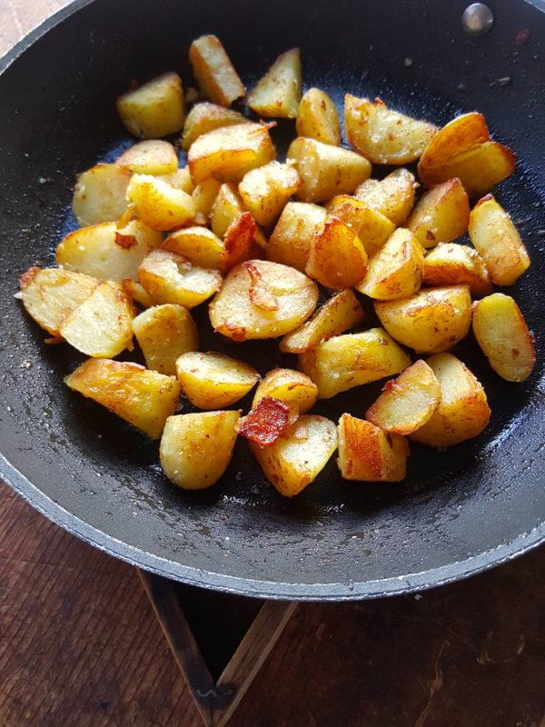 Sizzled Potatoes
