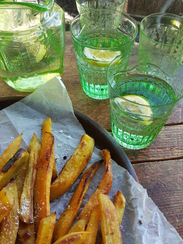 Sticky Kumara Chips 4