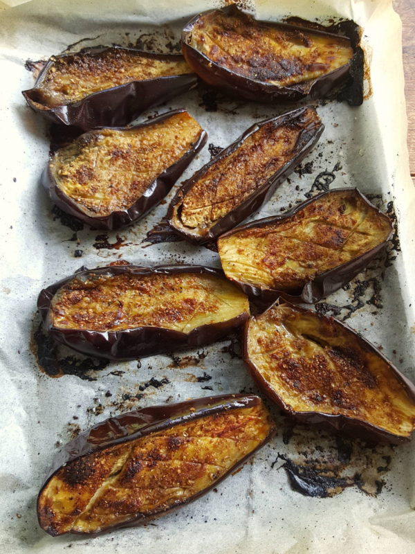Baked Eggplant with Spices & Preserved Lemon 1