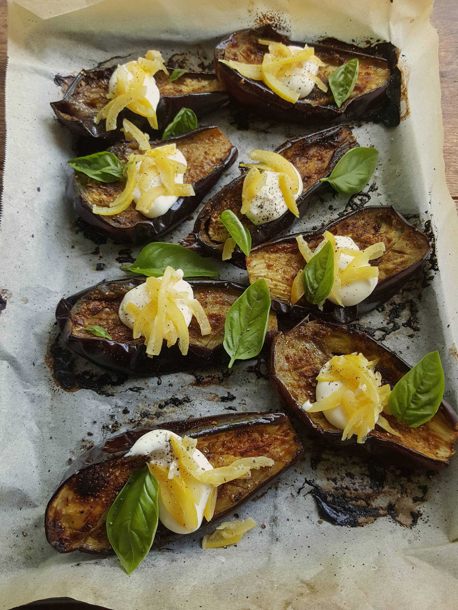 Baked Eggplant with Spices & Preserved Lemon 2