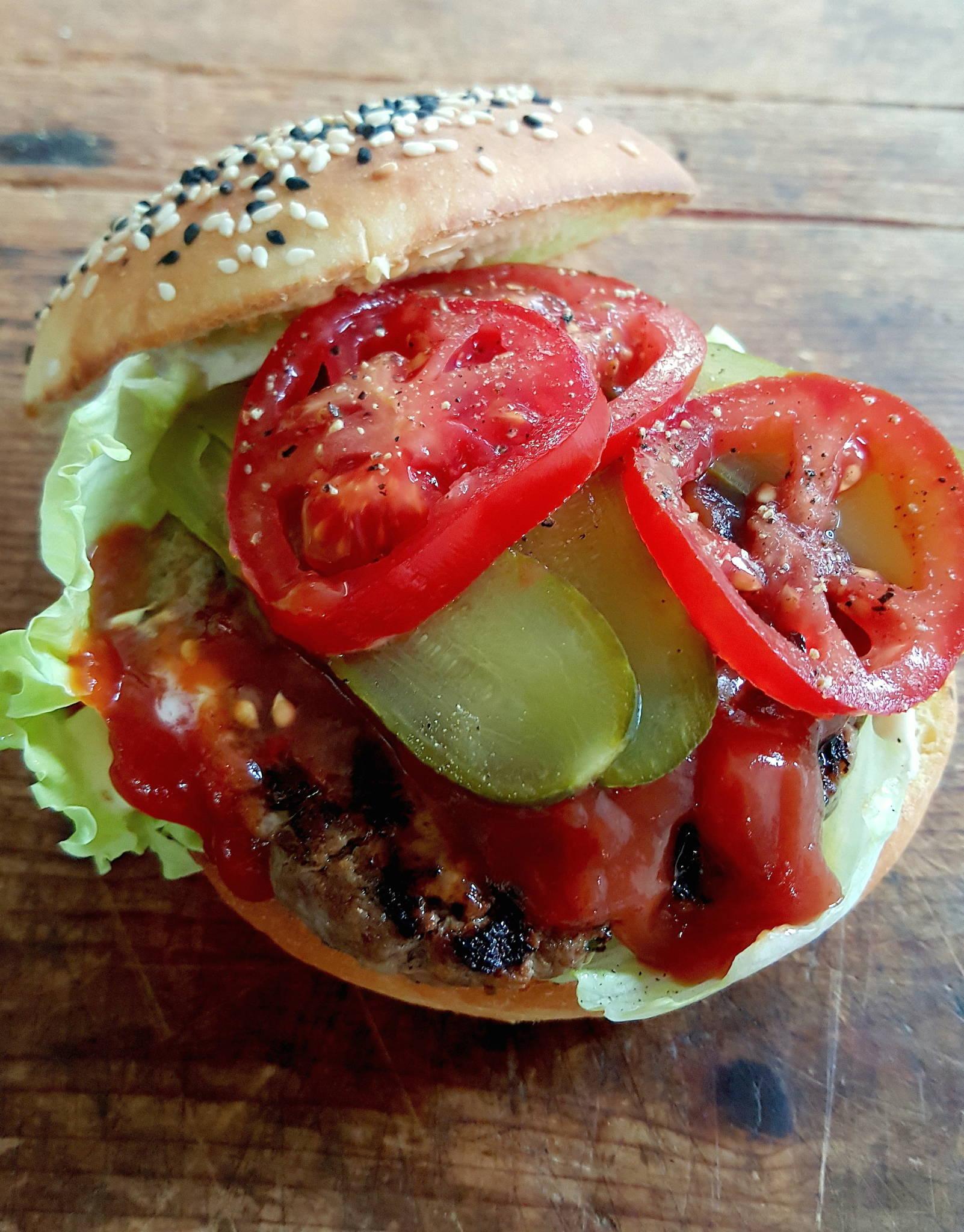 Beef & Pickle Burgers 9