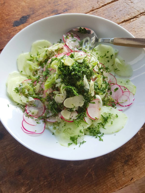 Radish & Cucumber Salad 1