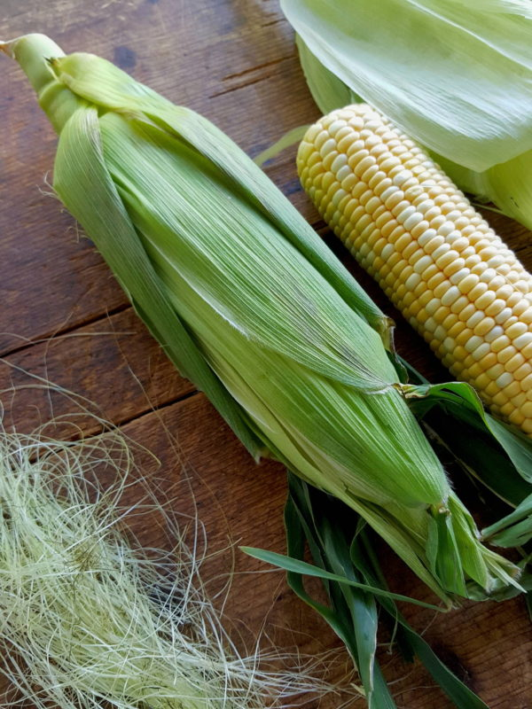 Sweet Corn with Lime & Tarragon Mayo 2