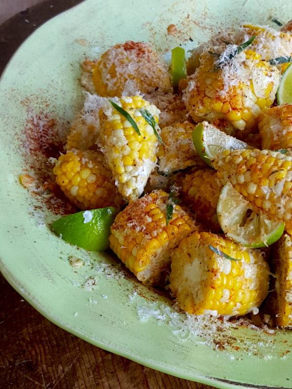 Sweet Corn with Lime & Tarragon Mayo 5