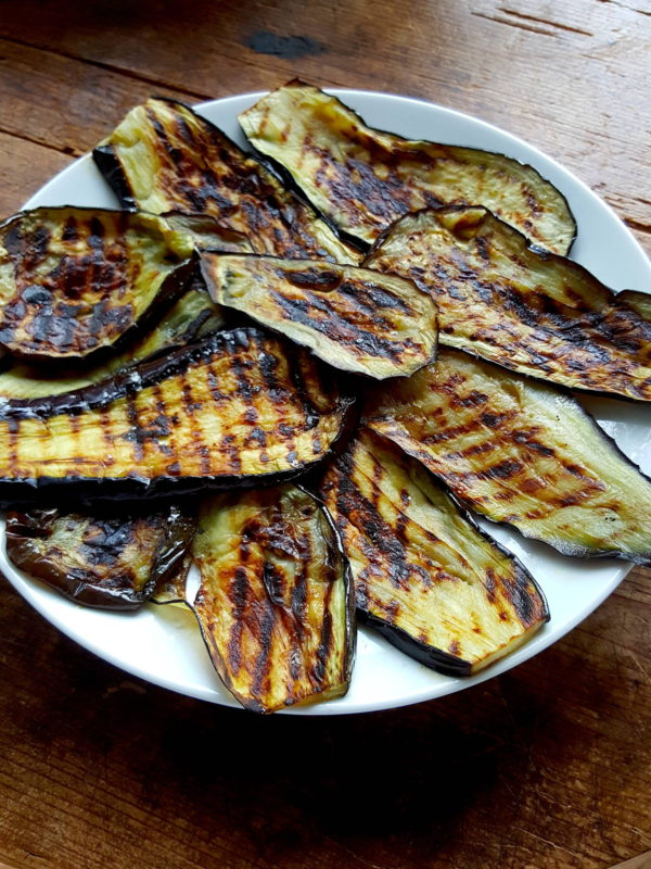 Baked Eggplant & Peppers 1
