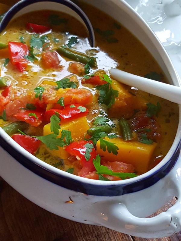 Pumpkin Red Pepper Coconut Curry 2