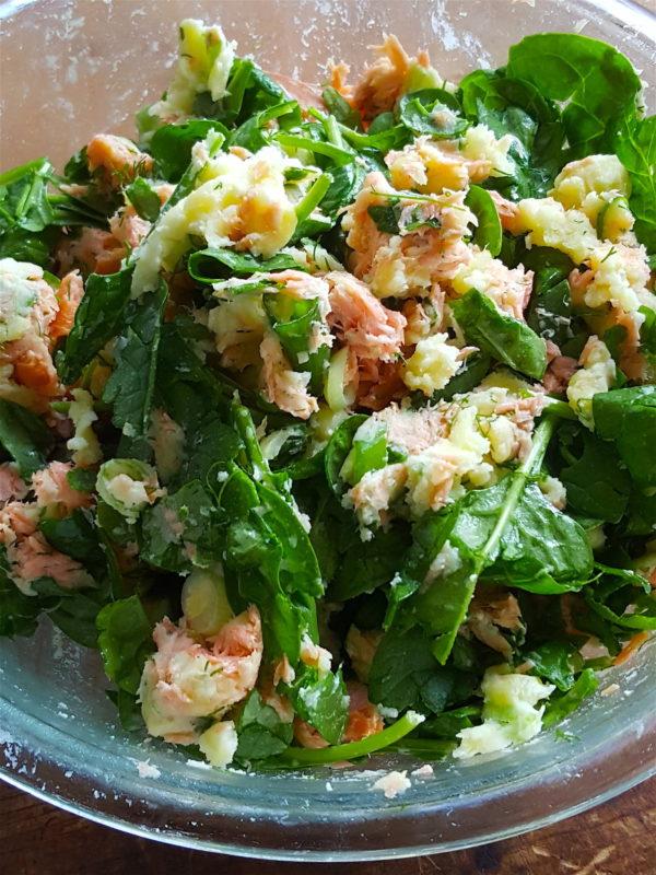 Salmon & Potato Hash 1