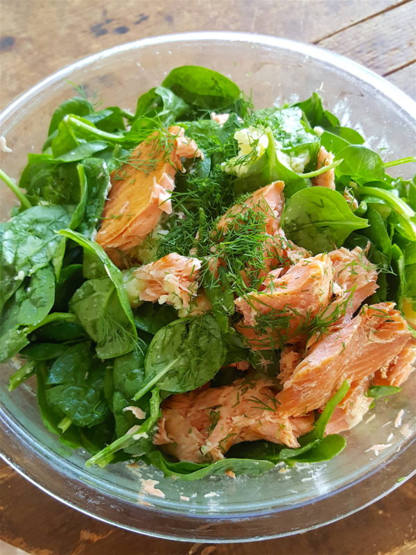 Salmon & Potato Hash 4