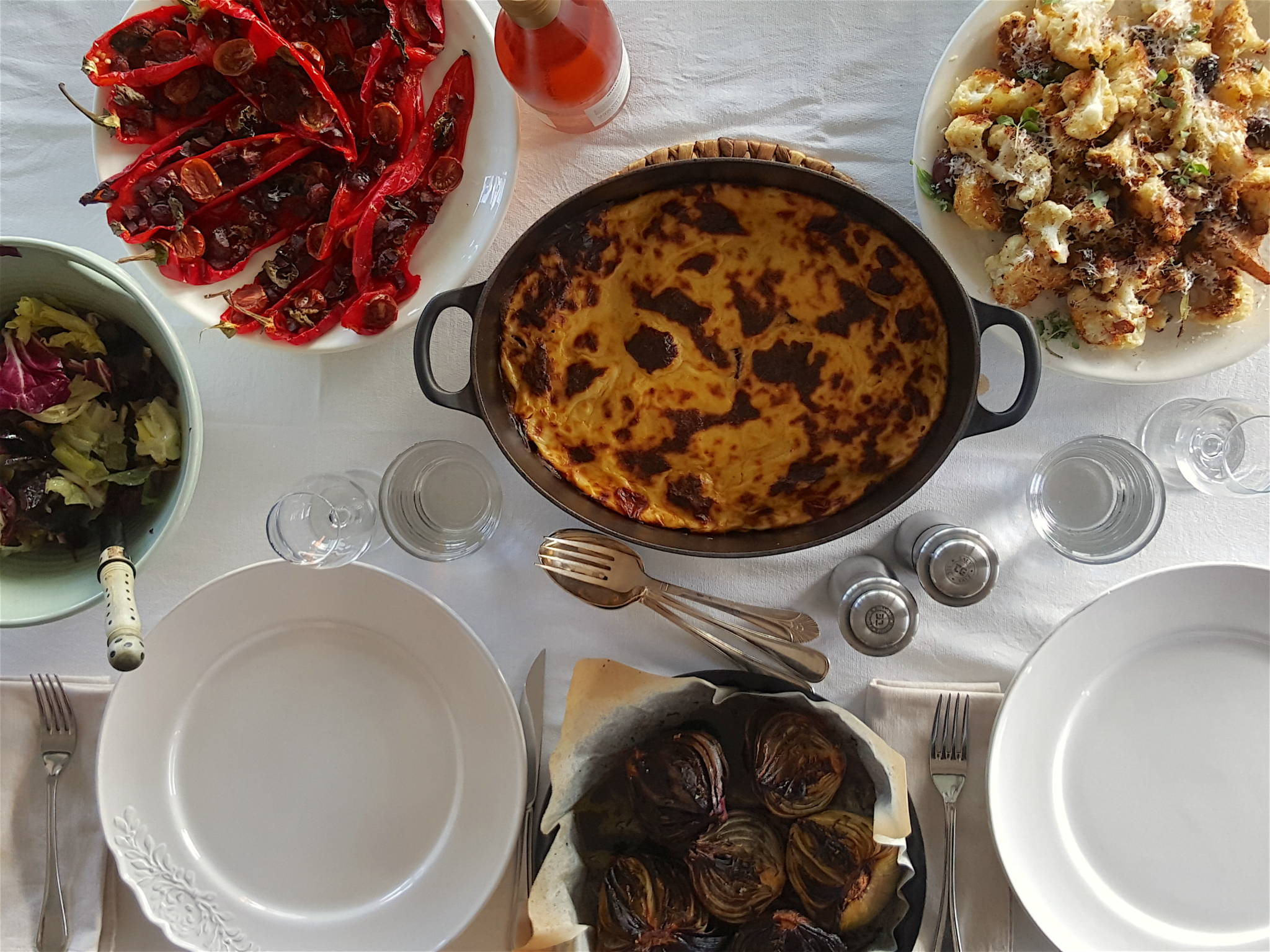 Baked Peppers with Chorizo 1