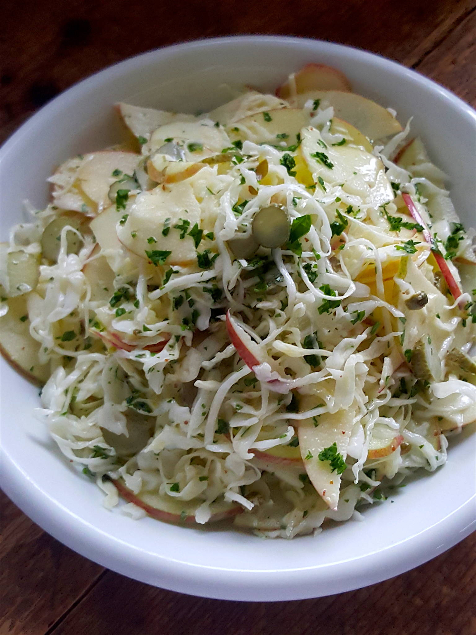 Cabbage & Apple Slaw 3